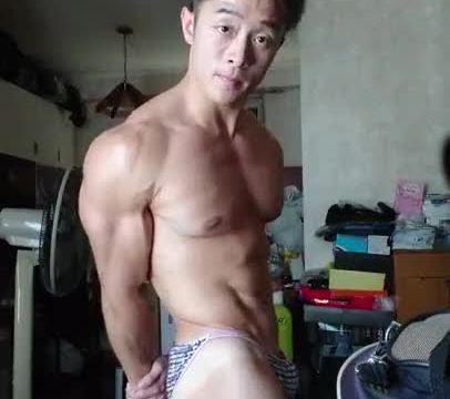 【HD】【Bodybuilder】 Flex Boner 03_190413