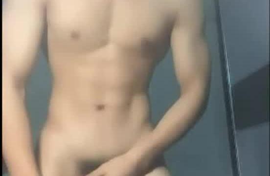 【HD】【Jerk Off】 Shandong Bodybuilder 01_190704