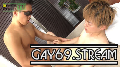 【HD】【MR-KR1502】体毛極薄のエロエロ男子がリングマラで生堀りされて大量潮噴き☆
