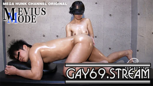 【HD】【MM-0011】 【MEVIUS MODE:Full HD】ヒーリング♀エロマッサージでノンケの性感スイッチを強制爆突き!!四つん這いでデカケツ丸見え!!アメフトで鍛えたガッチリエロボディの久人(ひさと)君が興奮発射!!!
