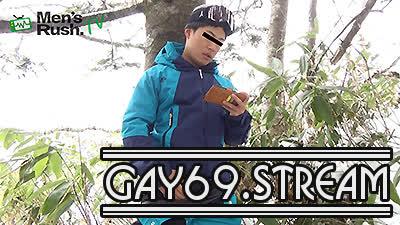 【HD】【MR-ON1103】 YUKIYAと一緒に雪山へGO〜2!野外オナニー&立ちションシーン編!