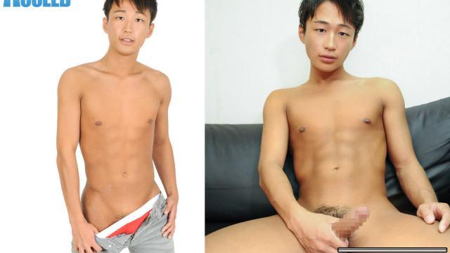 【HD】【OCON128】 褐色のスジ筋ノンケ少年こうだい君初撮りオナニー