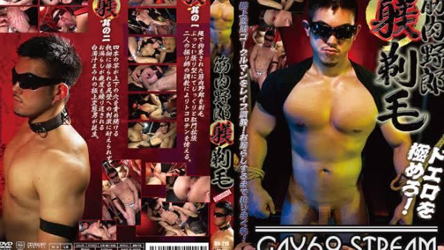 【HD】【BWB218】 筋肉野郎躾剃毛