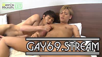 【HD】【MR-KR1218】 小柄なのに長マラ!ハーフ顔男子がATSUSHIとの生SEXでスプラッシュ噴射