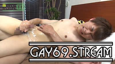 【HD】【MR-KR1387】 今年最後の潮吹き爆射!体毛極薄のエロエロ男子が潮&ザーメン塗れに!