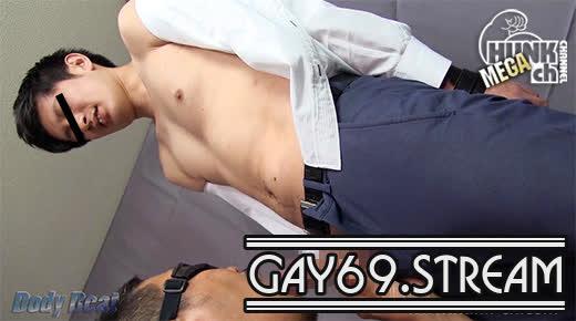 【HD】【BEAT-0018】 【Body Beat:Full HD】爽やかなノンケのイケメンリーマン君を拘束して強制射精!