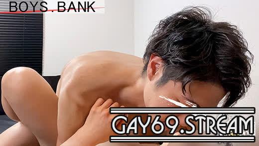 【HD】【BYB-0004】 【BOYS.BANK:Full HD】デカマラ居酒屋店員の今風チャラ男くんがいちゃいちゃSEXで発射‼004