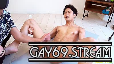 【HD】【CAPY-627】 初登場!【小梅】23歳AV男優!スリ筋の童顔の彼が男性相手にフル勃起!!