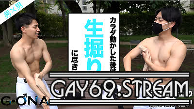 【HD】【GONA-162】 プリケツイケメン大学生とハーフ系マッチョくんが掘り合い♂