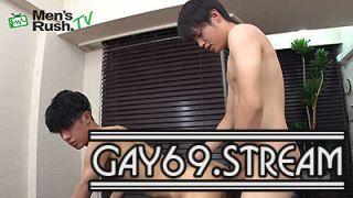 【HD】【MR-KR1719】 エロメンKENTOがHAYATEの生穴を突きまくる人気モデル同士の生SEX♂