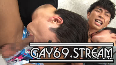 【HD】【GT-1890】 必見!ハンサム淫乱美青年が、初3Pで「お尻が超〜気持ちイイ」ド変態に♂