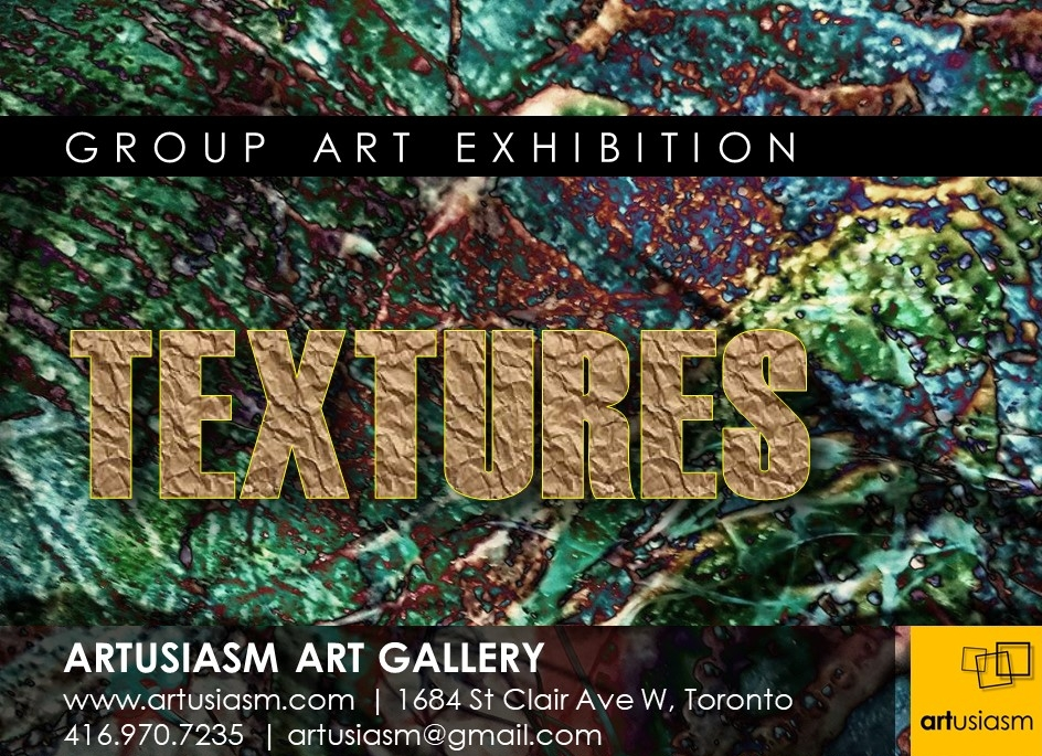 Textures Exhibition in Toronto