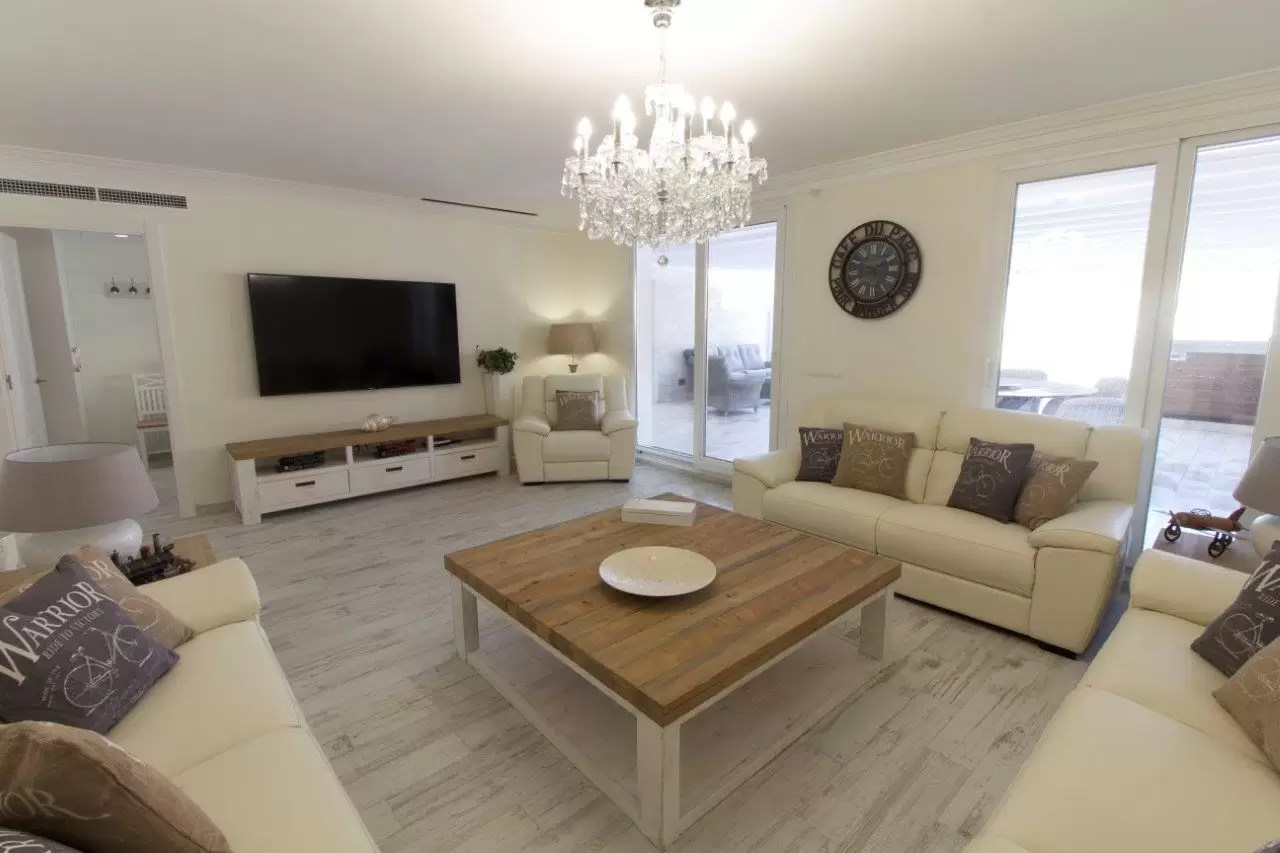 03 Living Room - Piso Sitges
