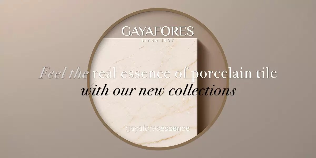 Gayafores Crema Avorio new porcelain tiles collection