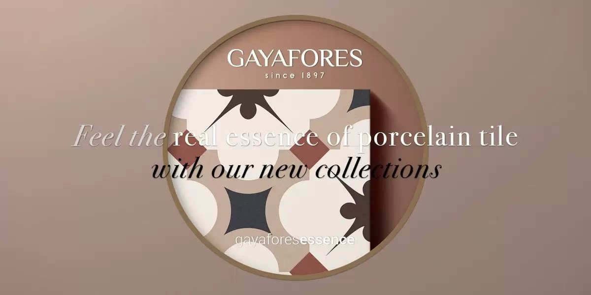 Gayafores Grace new porcelain tiles collection