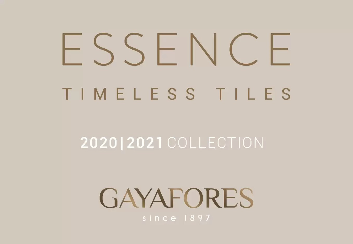 Gayafores New Collection Catalog 2020 2021
