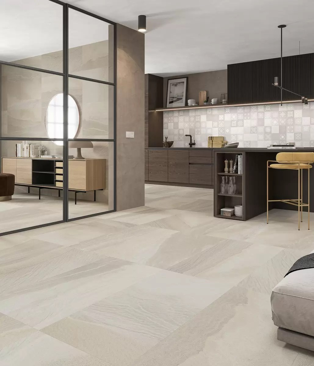 Salon Cocina Canyon Almond