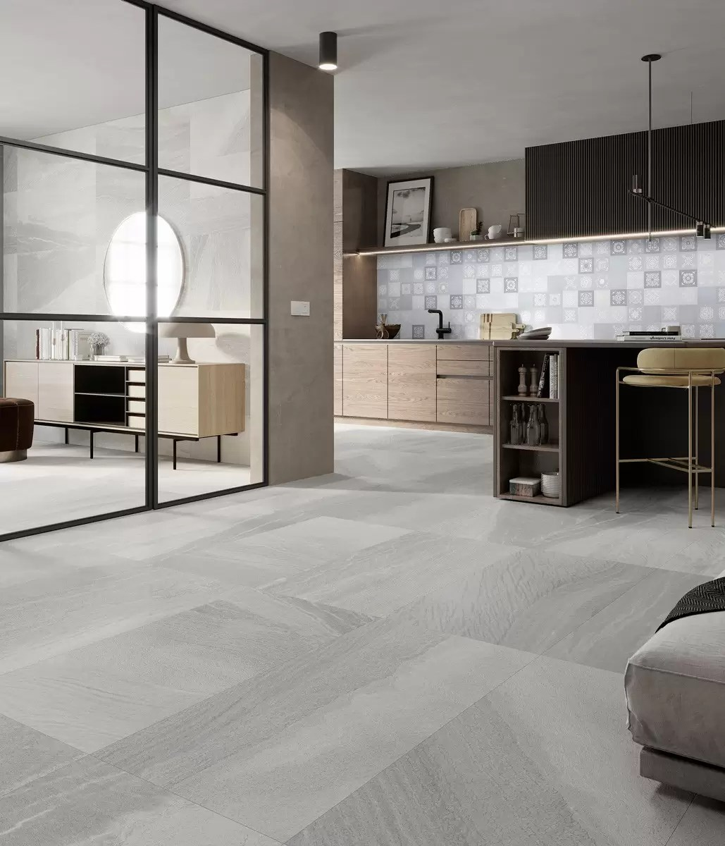 salon cocina canyon grey