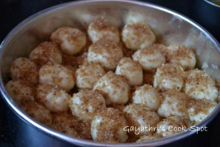 Eggless Cinnamom Pull Apart Bread 017