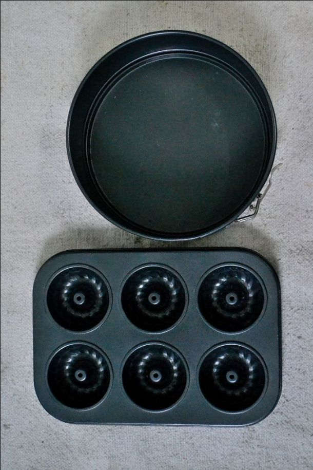 How To Line A Ring Mould Cake Tin