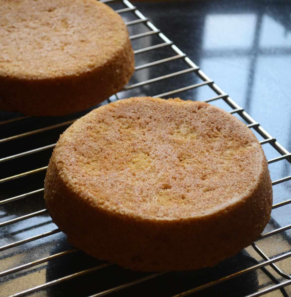Egg Free Vanilla Sponge Cake Recipe