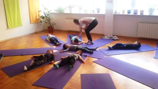 Йога за деца от 4 до 8 години