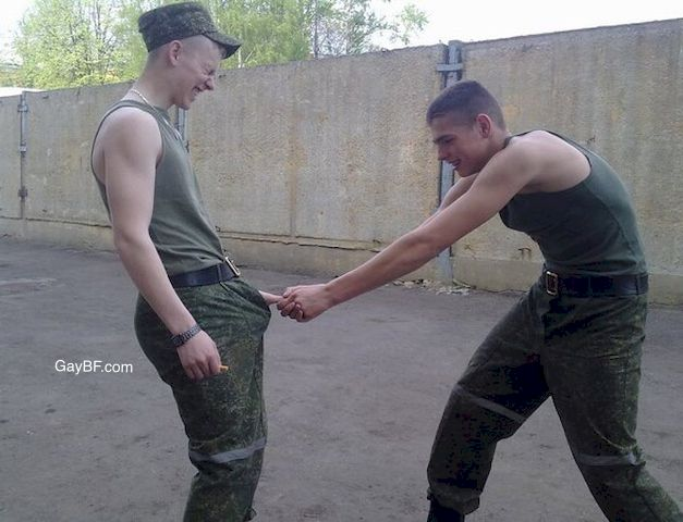 Fetish military video