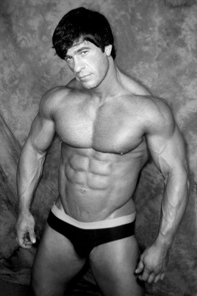 Michael Tomasetti - Black and White muscle