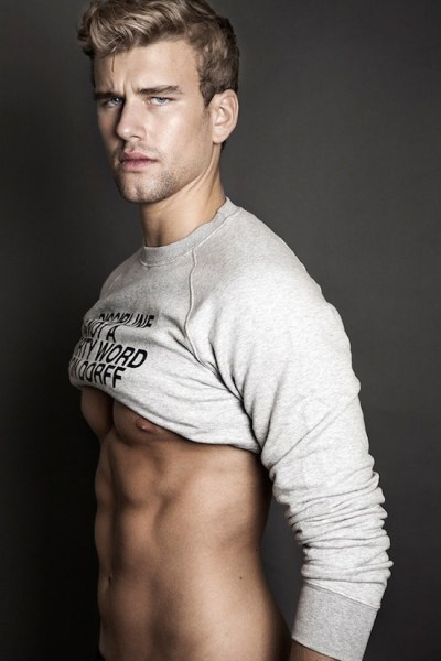 Dirty Blond Hunk Corentin Grusson