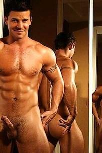 David Boreanaz naked (8)