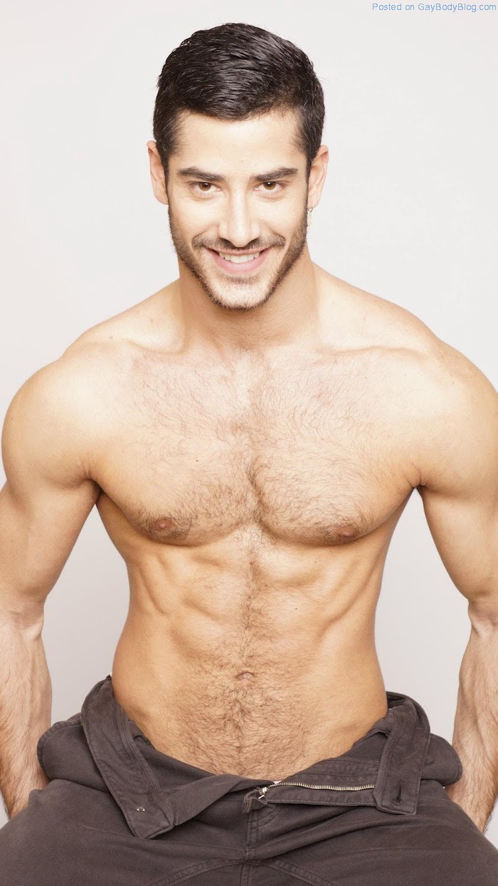 Male chest man models hairy