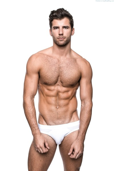 Handsome male model Taylor Phillips