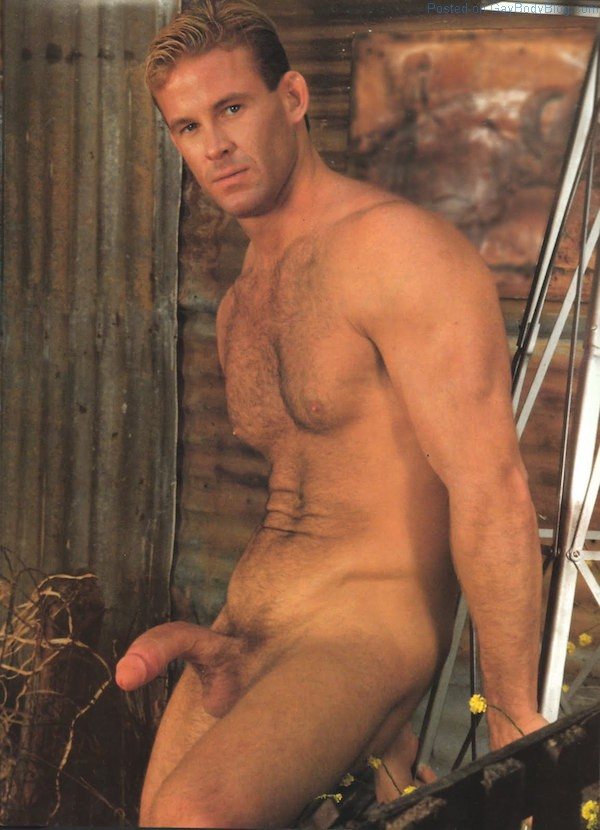 male nude hunk hung Well