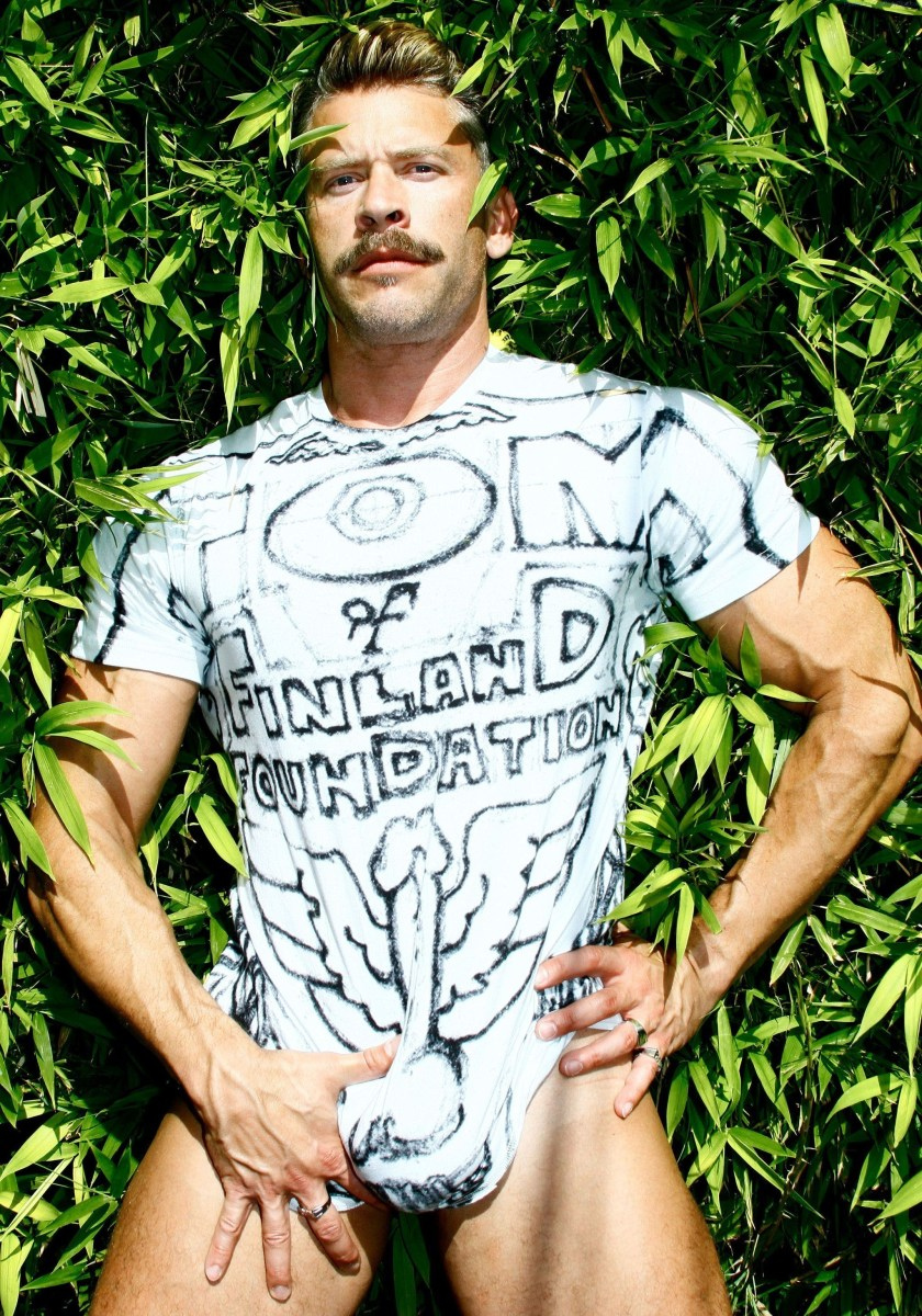 Handsome Hunk Terry Miller For Tom Of Finland