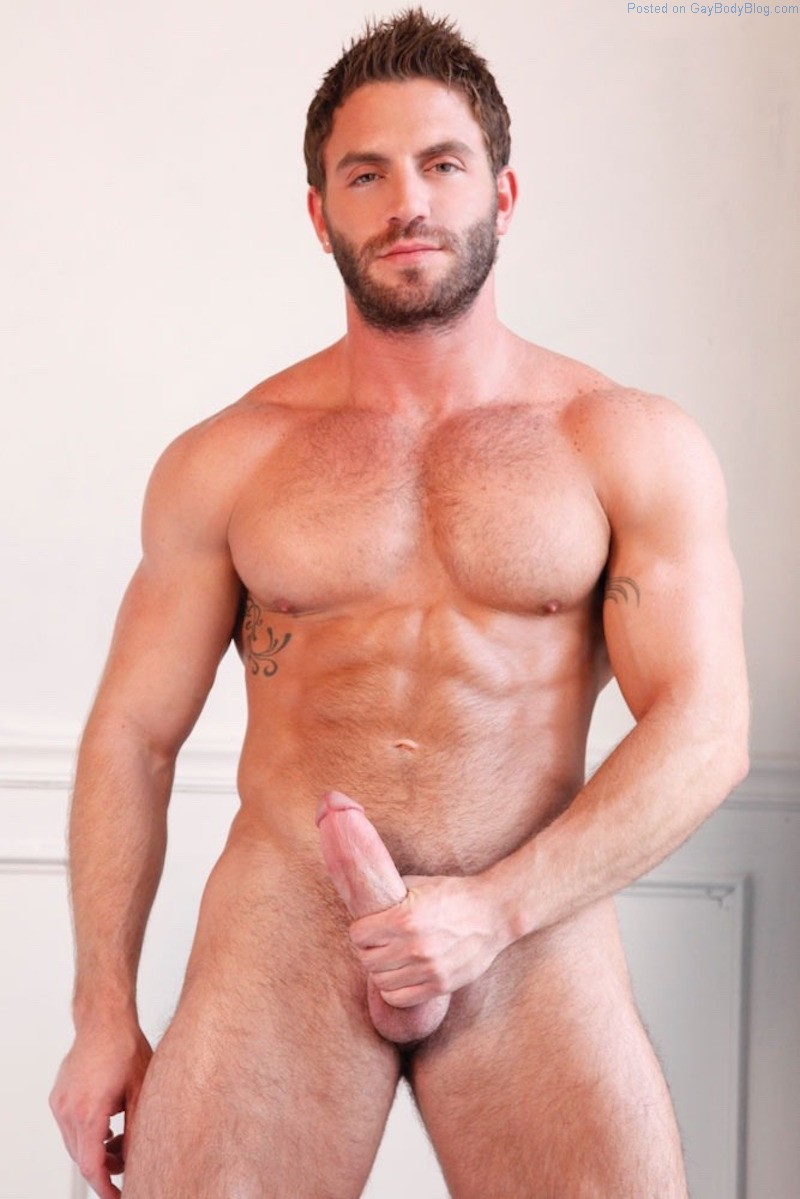 Musclebound Hunk Avi Dar Has An Amazing Dick