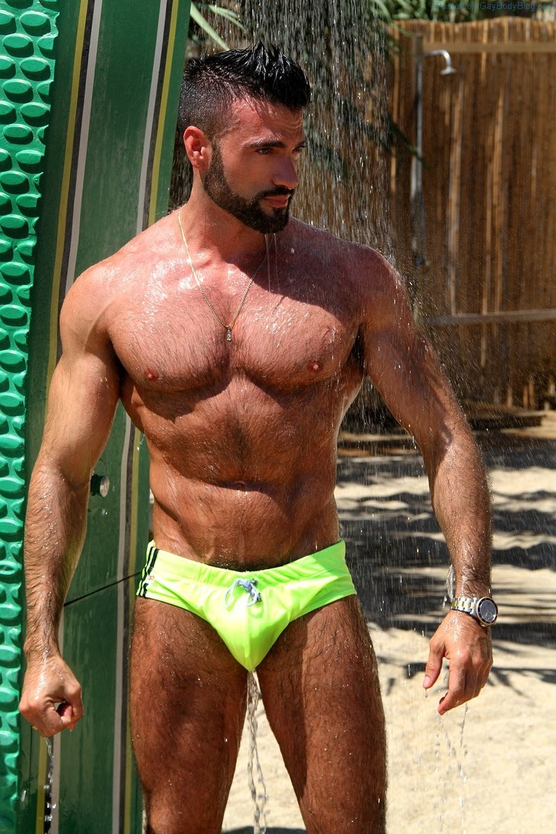Hairy And Hung Stud Dario Owen By Wolfgang Jager