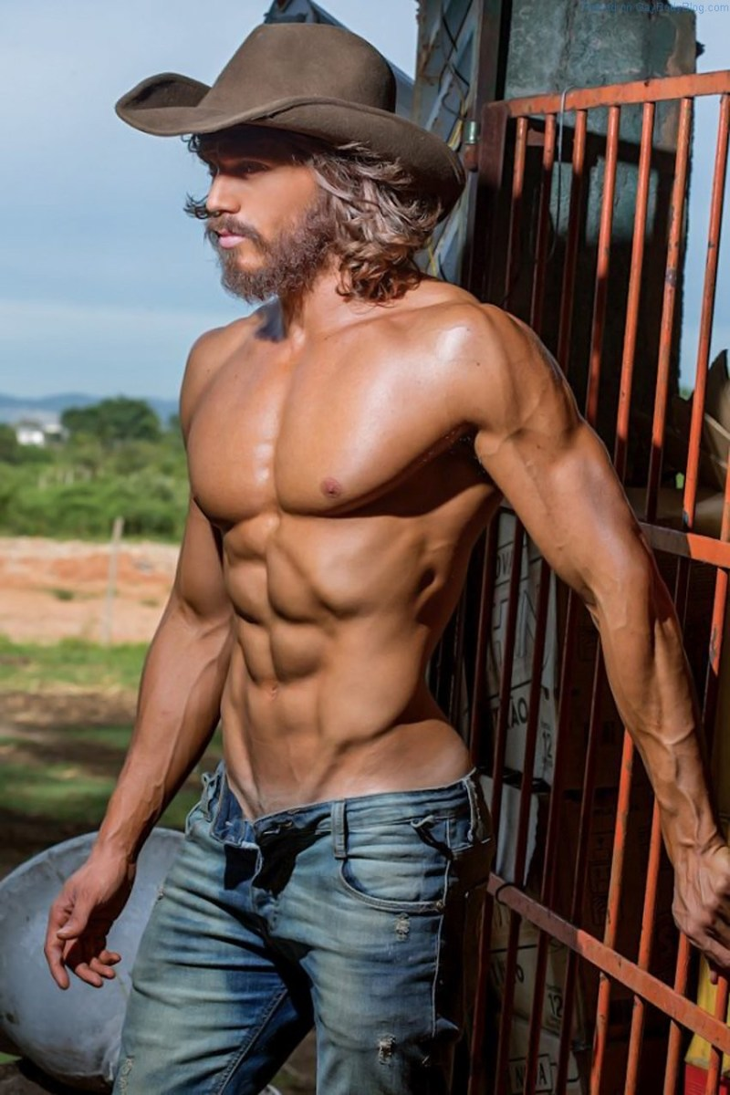 Franklin David Makes A Pretty Damn Fine Cowboy