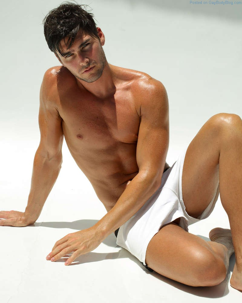 Gorgeous Charlie Matthews Teases In A Shoot By Marco Ovando
