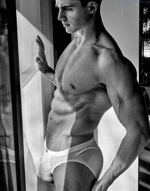 handsome male model Pietro Boselli