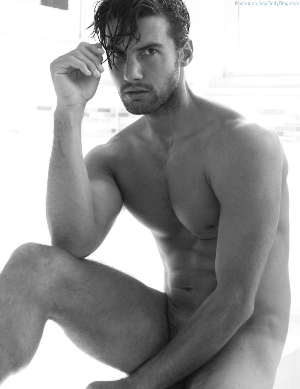 sexy Australian male model Mitchell Wick