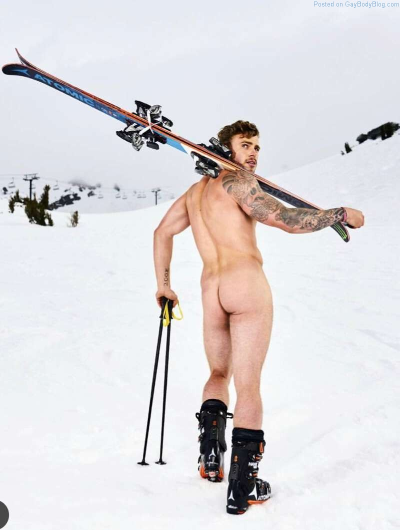 Handsome Olympic Skier Gus Kenworthy Gets His Butt Out