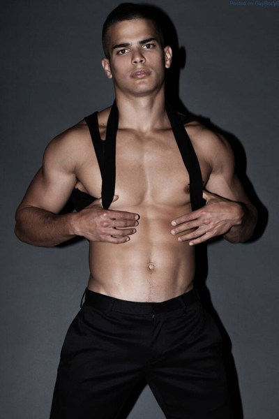 Male model Aggelos Konstantilieris