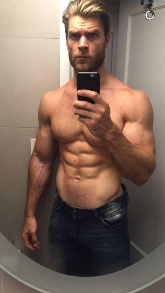 Muscle man Brandon White