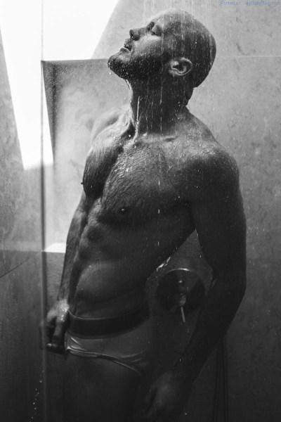 male model Juan Henning