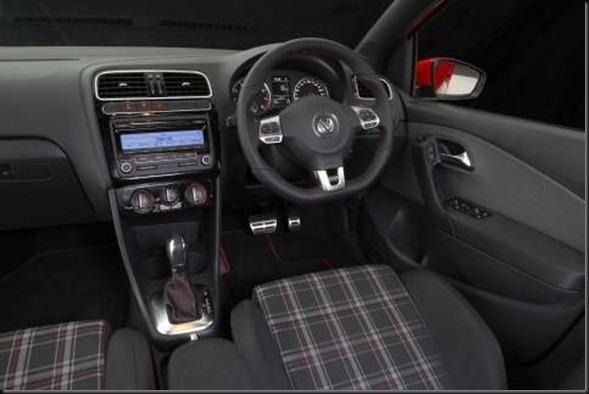 POLO GTi interior 2011 2