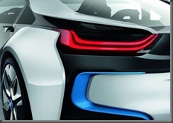 BMW i 8 rear lights
