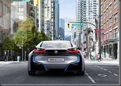 BMW i 8 rear