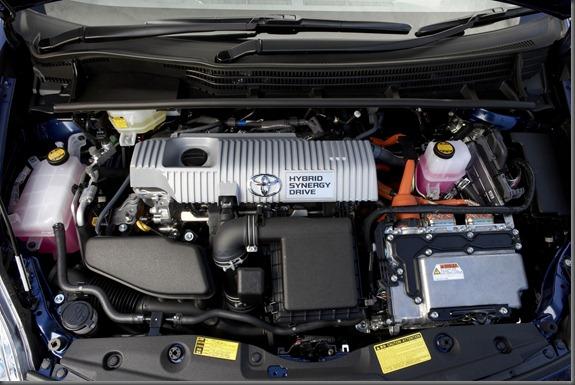 2009 Toyota Prius engine bay