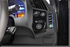 Honda CR-Z luxury dash buttons