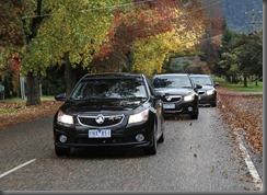 Holden Cruze Hatch Engineering Test Trip